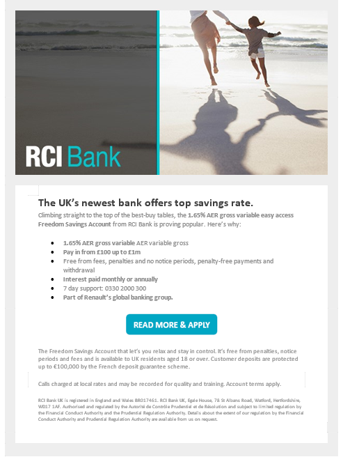 RCI Bank Email